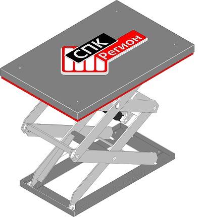 подъёмный гидравлический стол